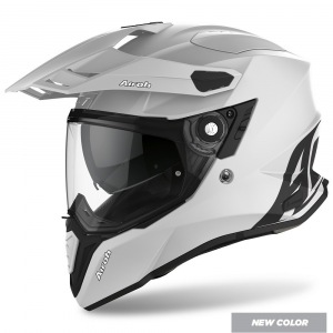 CASCO MOTO AIROH COMMANDER COLOR CONCRETE GREY MATT 2020 CM81