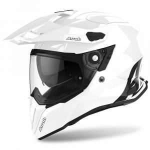 CASCO MOTO AIROH COMMANDER COLOR WHITE GLOSS 2020 CM14
