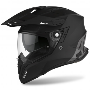 CASCO MOTO AIROH COMMANDER COLOR BLACK MATT 2020 CM11