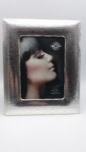 Cornice argento, portafoto, portaritratto, puntinata vendita online | GIOIELLERIA BRUNI Imperia