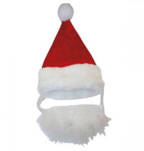 Cappello Christmas Santa Beard