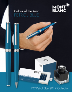 Rollerball Montblanc PIX Petrol Blue