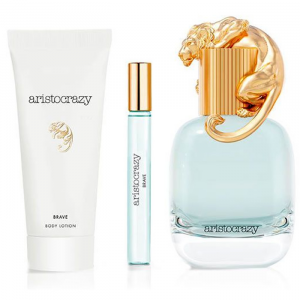 Aristocrazy Brave Eau De Toilette Spray 80ml Set 3 Parti 2019