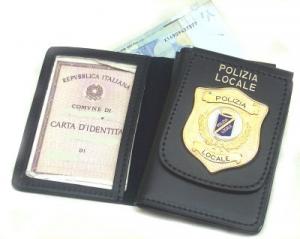 Portafoglo Polizia Locale
