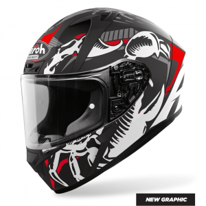 CASCO INTEGRALE MOTO AIROH VALOR UNCLE CLAW MATT 2020 VAC17