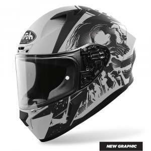 CASCO INTEGRALE MOTO AIROH VALOR AKUNA GREY MATT 2020 VAA35