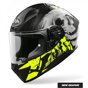 CASCO INTEGRALE MOTO AIROH VALOR AKUNA YELLOW GLOSS 2020 VAA31