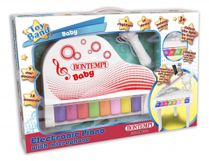 BABY PIANO ELETTRONICO A 8 TASTI 102025 BONTEMPI NEW
