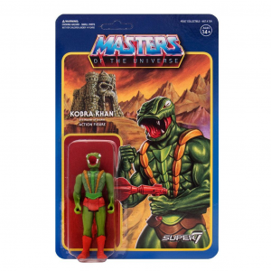 Masters of the Universe ReAction: wave 3 KOBRA KHAN