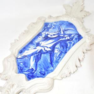Gagliardetto In Ceramica Da Appendere