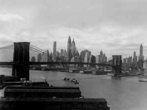 Il ponte di Brooklyn, New York, 1937