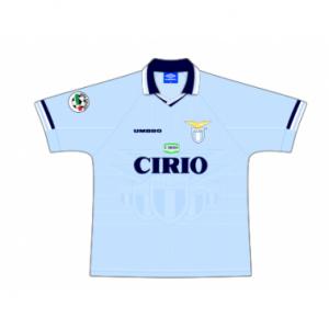 1997-98 Lazio Match Worn #6 Chamot