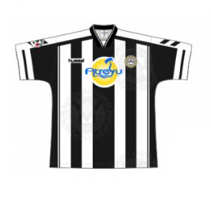 1997-98 Udinese Match Worn #20 Bierhoff