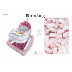 Girello Dondolino per Bambini BACIUZZI B-SWING Girl