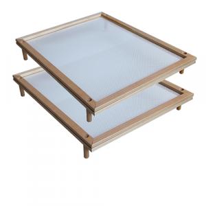 Telaio in legno con rete per essiccare 50 x 40 cm