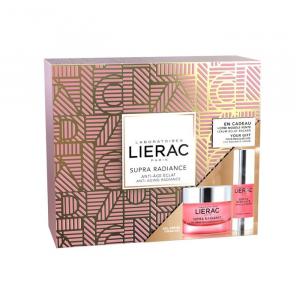 Lierac Supra Radiance Gel Crema 50ml+ Supra Radiance Sérum Éclat Regard 15ml