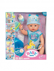 BABY BORN SOFT TOUCH BOY 43CM