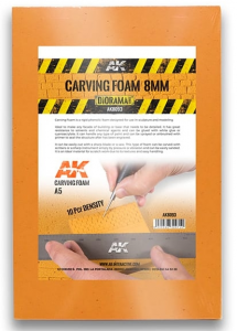 CARVING FOAM 8MM A5 SIZE