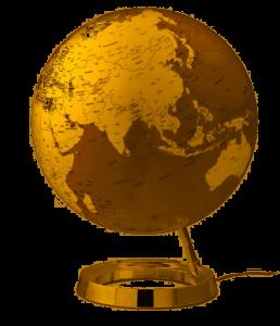 GLOBO 30 cm L&C GOLD INGLESE 230V