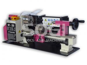 Tornio di precisione da banco M1-250 SOGI 180 x 300 mm