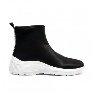 Sneaker a calzino nera Guess