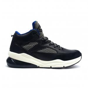 Sneaker nera con suola alta Replay