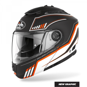 CASCO MODULARE MOTO AIROH PHANTOM-S BEAT ORANGE MATT 2020 PHSB32