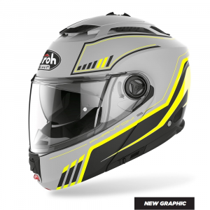CASCO MODULARE MOTO AIROH PHANTOM-S BEAT YELLOW MATT 2020 PHSB32
