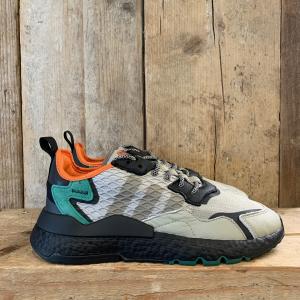 Scarpa Adidas Nite Jogger in Cordura Sesamo e Nera