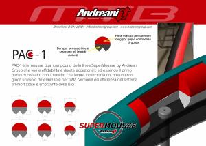 ANDREANI Inserto Supermousse D.35 Tg. M