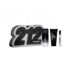 Carolina Herrera 212 Vip Black Eau De Toilette Spray 100ml Set 2 Parti 2019