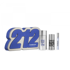 Carolina Herrera 212 Men Eau De Toilette Spray 100ml Set 3 Parti 2019