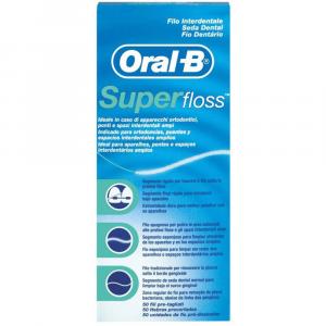 ORAL-B Super Floss 50 Fili Pre-Tagliati