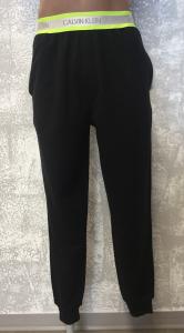 Pantalone felpa nero uomo Calvin Klein