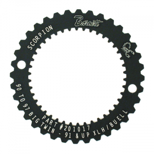 Barnett, Scorpion clutch hub lock plate tool90-97(NU)B.T.; 91-19 XL; 91-10(NU)BUELL XB