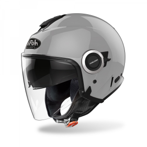CASCO JET MOTO AIROH HELIOS COLOR CONCRETE GREY GLOSS 2020 HEM81