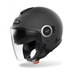 CASCO JET MOTO AIROH HELIOS COLOR ANTHRACITE MATT 2020 HE29