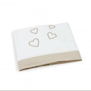 Set lenzuolini lettino 3 pezzi 100 % cotone
