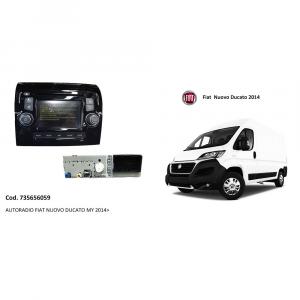 AUTORADIO FIAT NUOVO DUCATO 2014 NUOVA E ORIGINALE 735656059