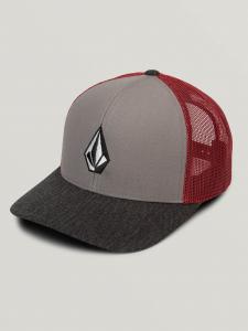 Cappello Volcom Full Stone ( Grey/Red )