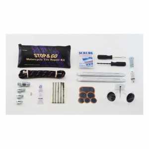 Stop & Go, Deluxe motorcycle tire repair and inflate kit