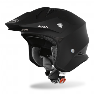 CASCO JET MOTO AIROH TRR-S COLOR BLACK MATT 2020 TRRS11
