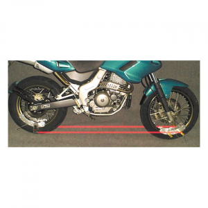 B.A.T. (Bike Alignment Tool) laser alignment