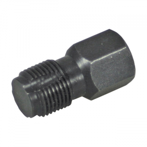 Lisle, 18mm O2 sensor thread chaser; 06-09 Touring; 06-11 Dyna, Softail, XL, V-Rod (NU)