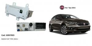 AUTORADIO FIAT TIPO 2015 NUOVA ORIGINALE 52057023