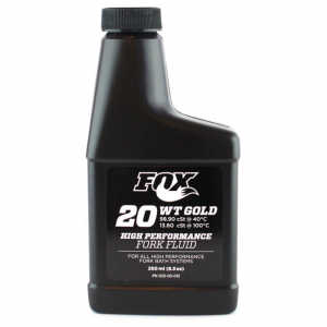 FOX Olio Sospensioni Fox Fluid Gold 20WT 250ml