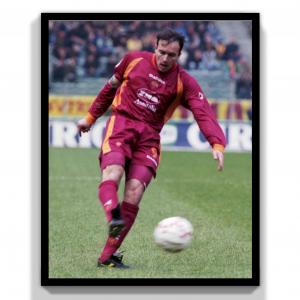 1997-98 As Roma Match Worn #9 Balbo