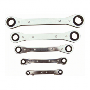 Lang Tools Box end wrench set Latch-on US sizes