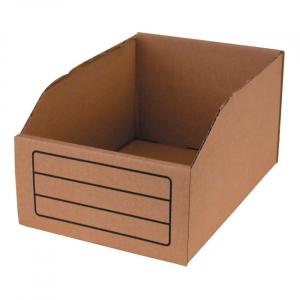 BIN BOX, BROWN 9 LITER