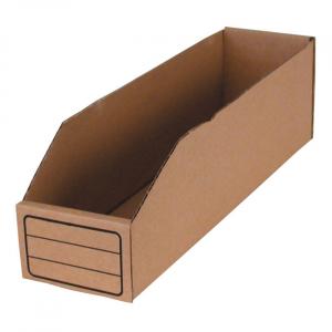 BIN BOX, BROWN 4.4 LITER